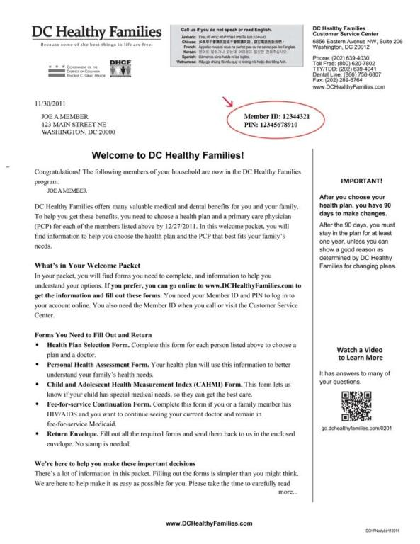 DC Healthy Families on dental welcome letter sample, intern welcome letter sample, executive welcome letter sample,